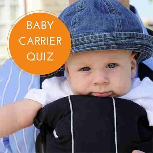 Baby Carrier Quiz
