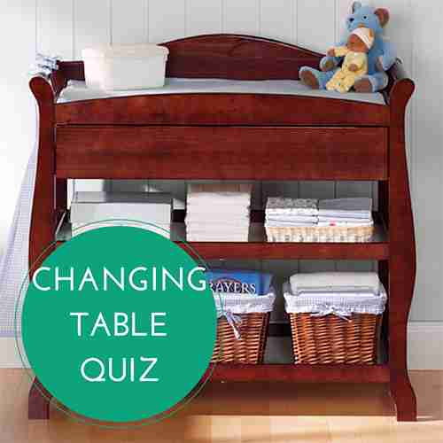 Changing Table Quiz